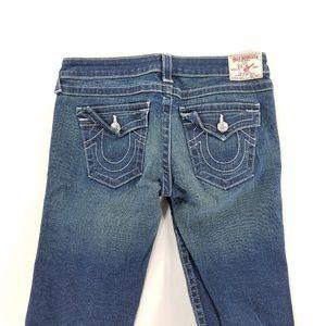 True Religion Julie Skinny Denim Jeans Stretch
